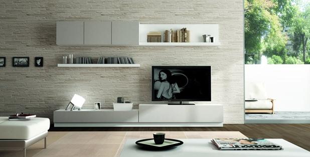 Muebles Blanco Q5df Salones Mueble Salon Acabado En Blanco Y Gris Laca Ref Sal05