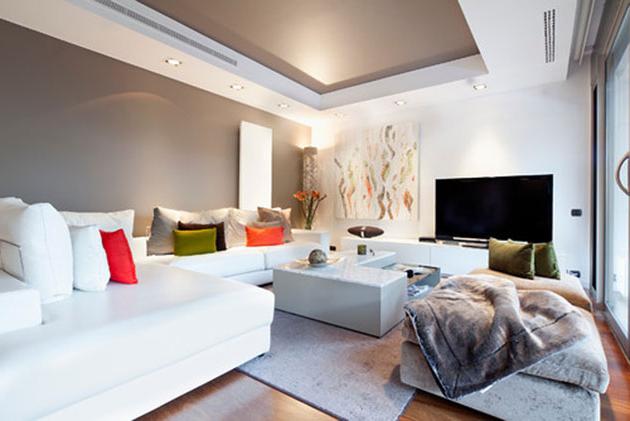 Muebles Blanco Txdf 17 Ideas Para Pintar Y Decorar Un Salà N Con Muebles Blancos