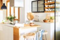 Muebles Blancos Y Madera 9fdy Cocinas En Blanco Y Madera Bonitas CÃ Lidas Y Luminosas