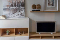 Muebles Blancos Y Madera Dddy Salà N Nà Rdico En Madera De Roble Y Blanco Alcon Mobiliario