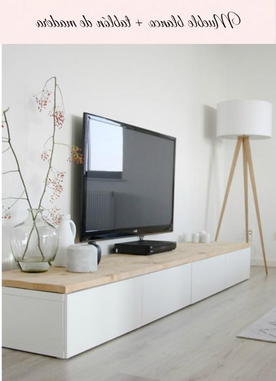 Muebles Blancos Y Madera Whdr Mueble Blanco Y Madera Low Cost Via Miblog Salà N Apartment Life