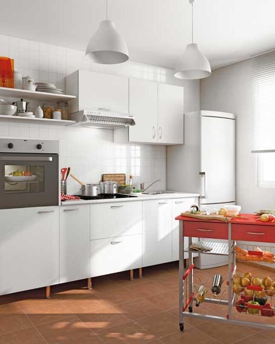 Muebles Cocina Fondo Reducido 4pde CÃ Mo Elegir Cocinas Basic Leroy Merlin