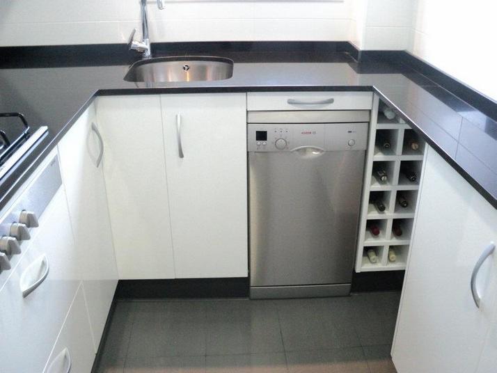 Muebles Cocina Fondo Reducido Nkde Cocina Blanca Y Negra Cocinas Franc