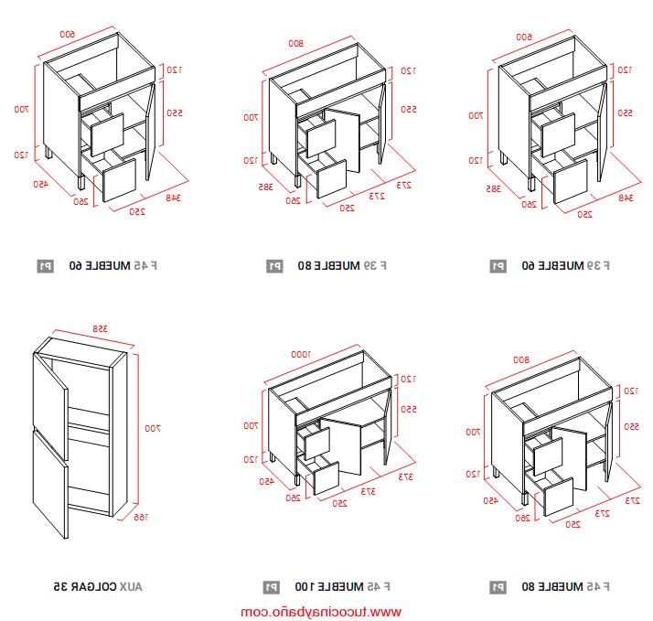 Muebles Cocina Fondo Reducido Zwdg Conjunto Sil Lavabo Cristal Tu Cocina Y Baà O