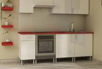 Muebles Cocina Kit 3ldq Conjunto De Muebles De Cocina Excellence En Blanco Brillo