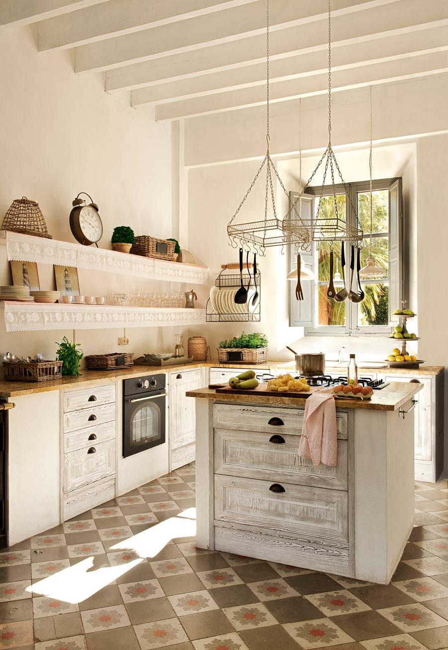 Muebles Cocina Rusticos 9ddf 20 Cocinas Rústicas Bonitas Con Muebles Vintage Y Mucho Encanto