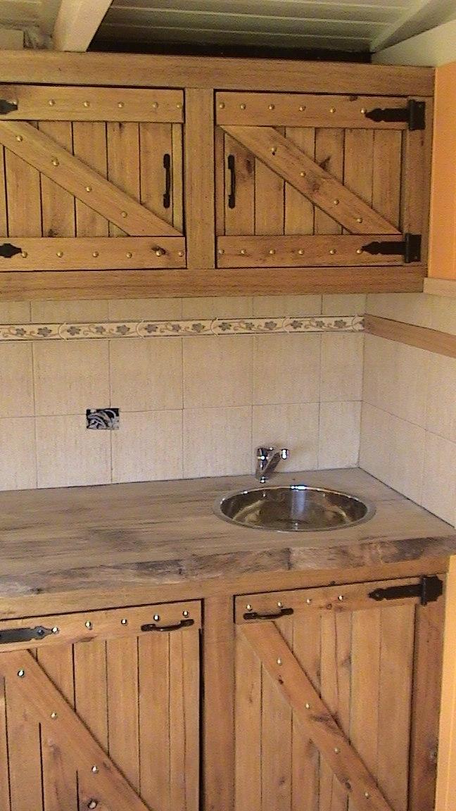 Hacer Muebles De Cocina Rusticos Cocinas Rústicas decoradas con ...