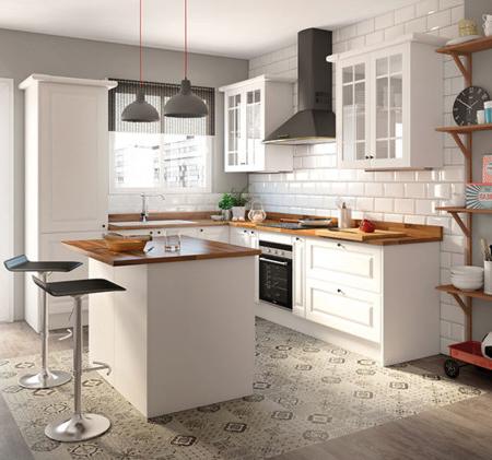 Muebles Cocina Thdr Una Cocina Luminosa Y Actual Los Muebles Blancos son Tendencia