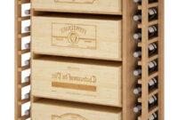 Muebles Con Cajas De Madera 3id6 Mueble Botellero Para 4 Cajas De Vino 12 Botellas Hecho En Espaà A Madera De Pino Roble Se Entrega Montado 105 82 32 Cm Fondo
