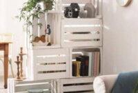 Muebles Con Cajas De Madera 9ddf 30 Ideas Creativas De Reutilizar O Reciclar Viejas Cajas De