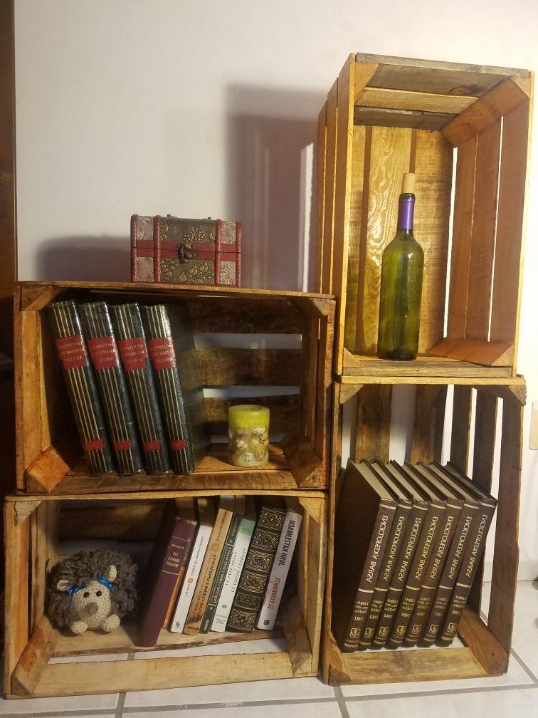 Muebles Con Cajas De Madera Budm Mueble Cajas De Madera