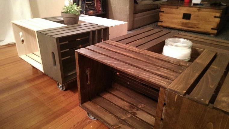 Muebles Con Cajas De Madera Ffdn Muebles Reciclados Hechos Con Cajas De Frutas