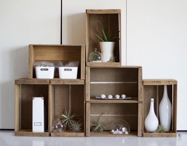 Muebles Con Cajas De Madera Kvdd Muebles Reciclados Hechos Con Cajas De Frutas