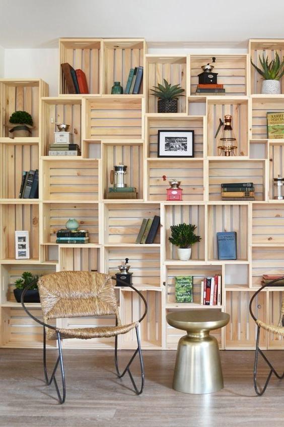 Muebles Con Cajas De Madera X8d1 De 60 Ideas Con Cajas De Madera De Fruta Muebles Cajas