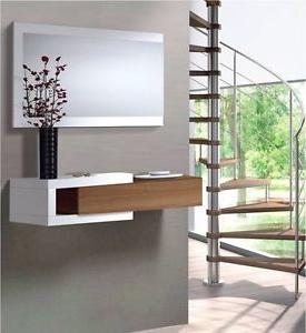 Muebles Consola Entrada Drdp Hogar24 Recibidor Mueble Consola Mueble De Entrada Con Espejo