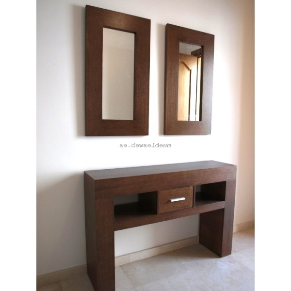Muebles Consola Entrada Kvdd Mueble Consola orion Fabricado A Medida Con Espejo A Juego