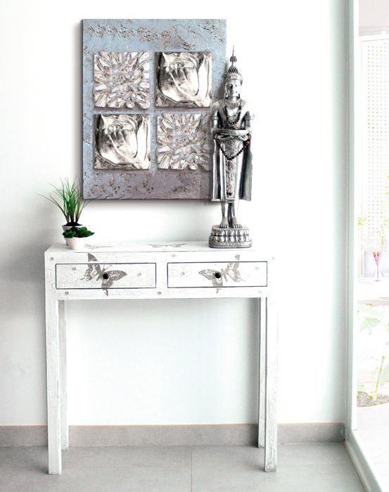 Muebles Consola Entrada O2d5 â Estudio Delier Consola Living Mariposa 90×80 Cm