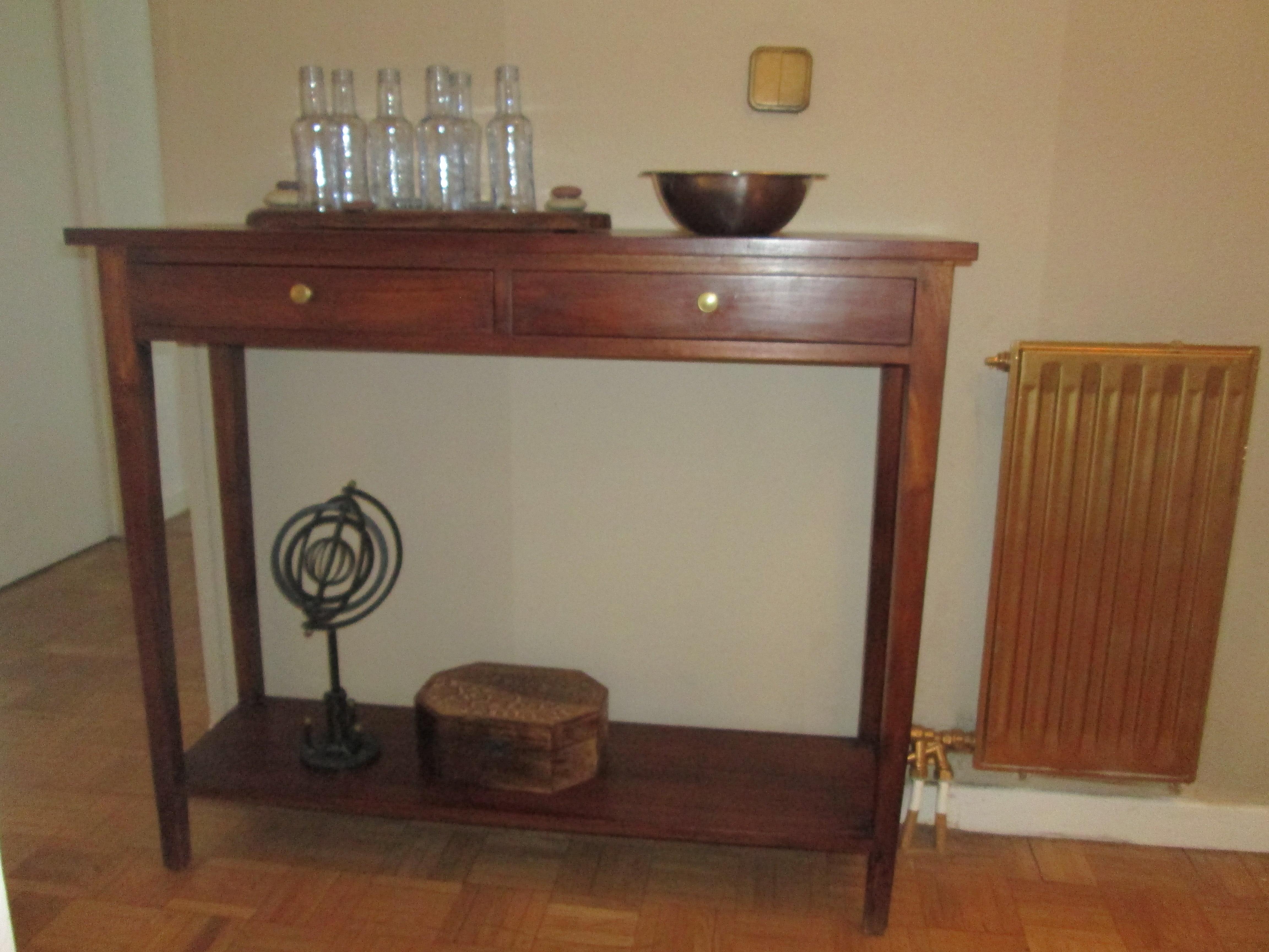 Muebles Consola Entrada Rldj Restaurar Una Entrada De Segunda Mano Recicla Tus Muebles