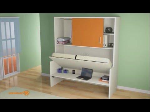 Muebles Convertibles En Cama Zwd9 Muebles Convertibles Cama Convertible En Mesa Youtube