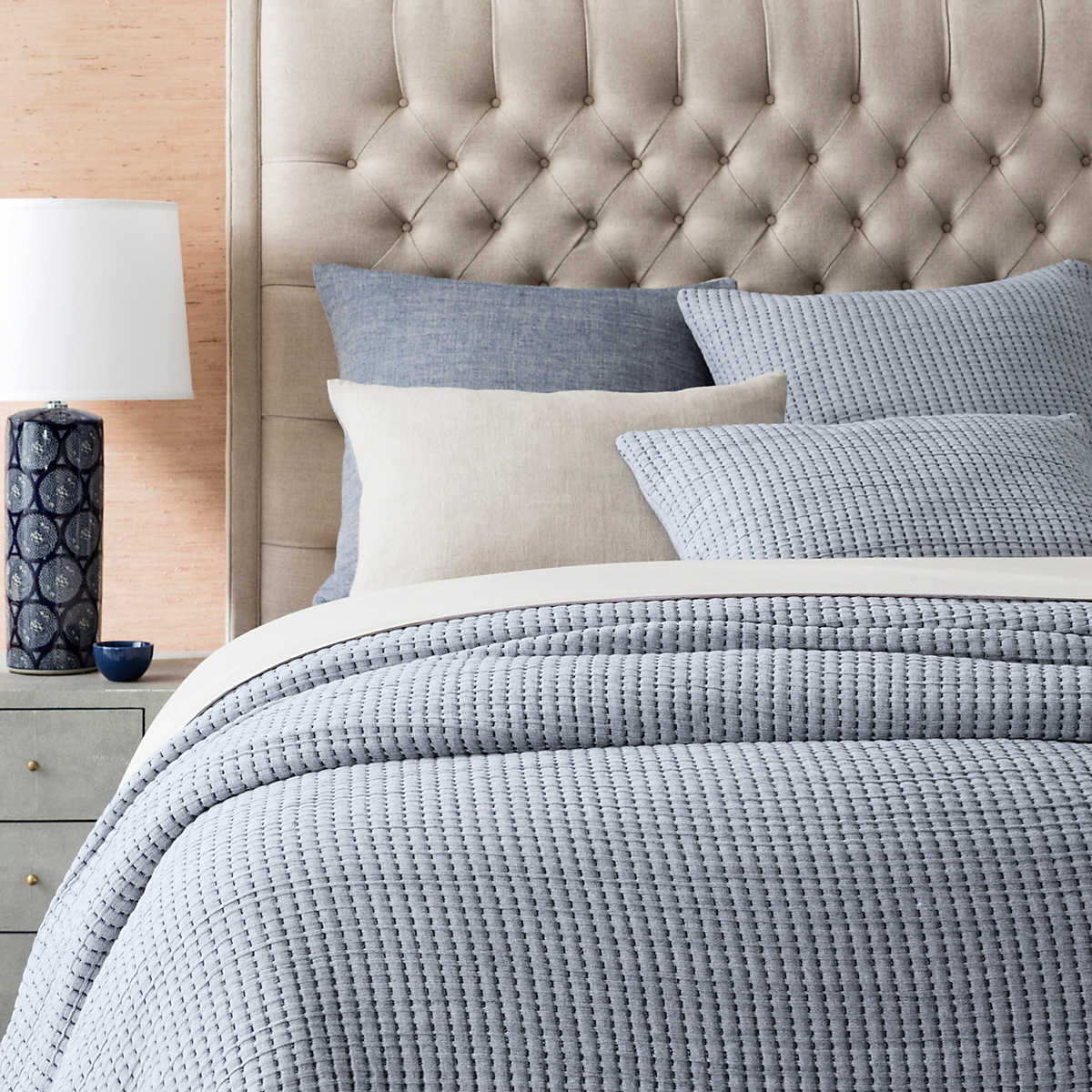 Muebles Coruña Outlet Xtd6 Pick Stitch Navy Matelassà Coverlet Pine Cone Hill