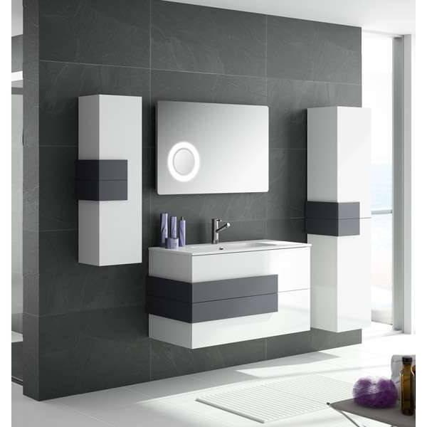 Muebles De Baño Blancos Etdg Encantador Muebles De Banos Modernos Mueble Bano Cronos 80 Blanco