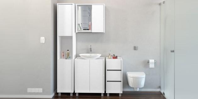 Muebles De Baño Blancos T8dj Mueble Baà O Bajo Pileta Blanco Opcià N B Woow 1 190 00 En