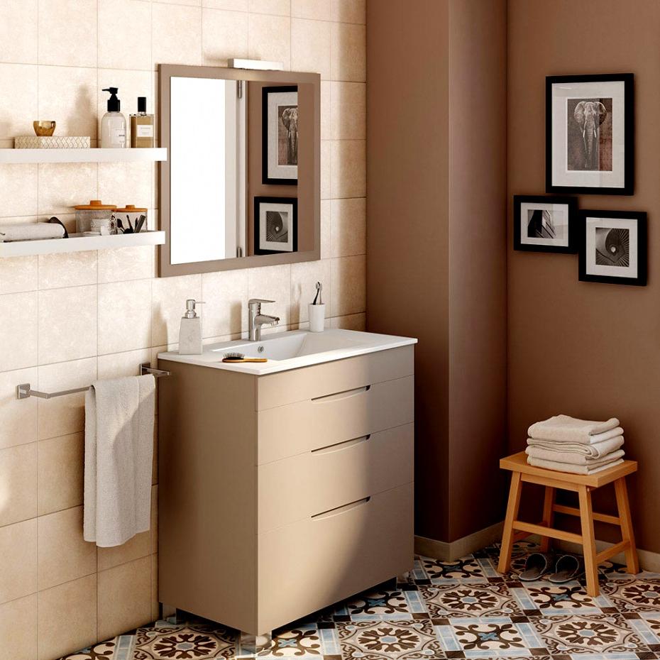 Muebles De Baño Blancos Tqd3 Mejor De Muebles Bano Gris Alto Brillo 05 Mueble Ba C3 B1o Noja 1200