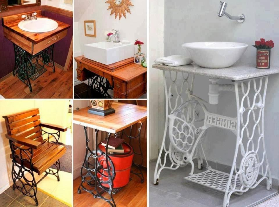 Muebles De Baño Con Patas 9ddf Mueble Con Las Patas De forja Antigua Singer Aiblº Ideas Para Diseà O