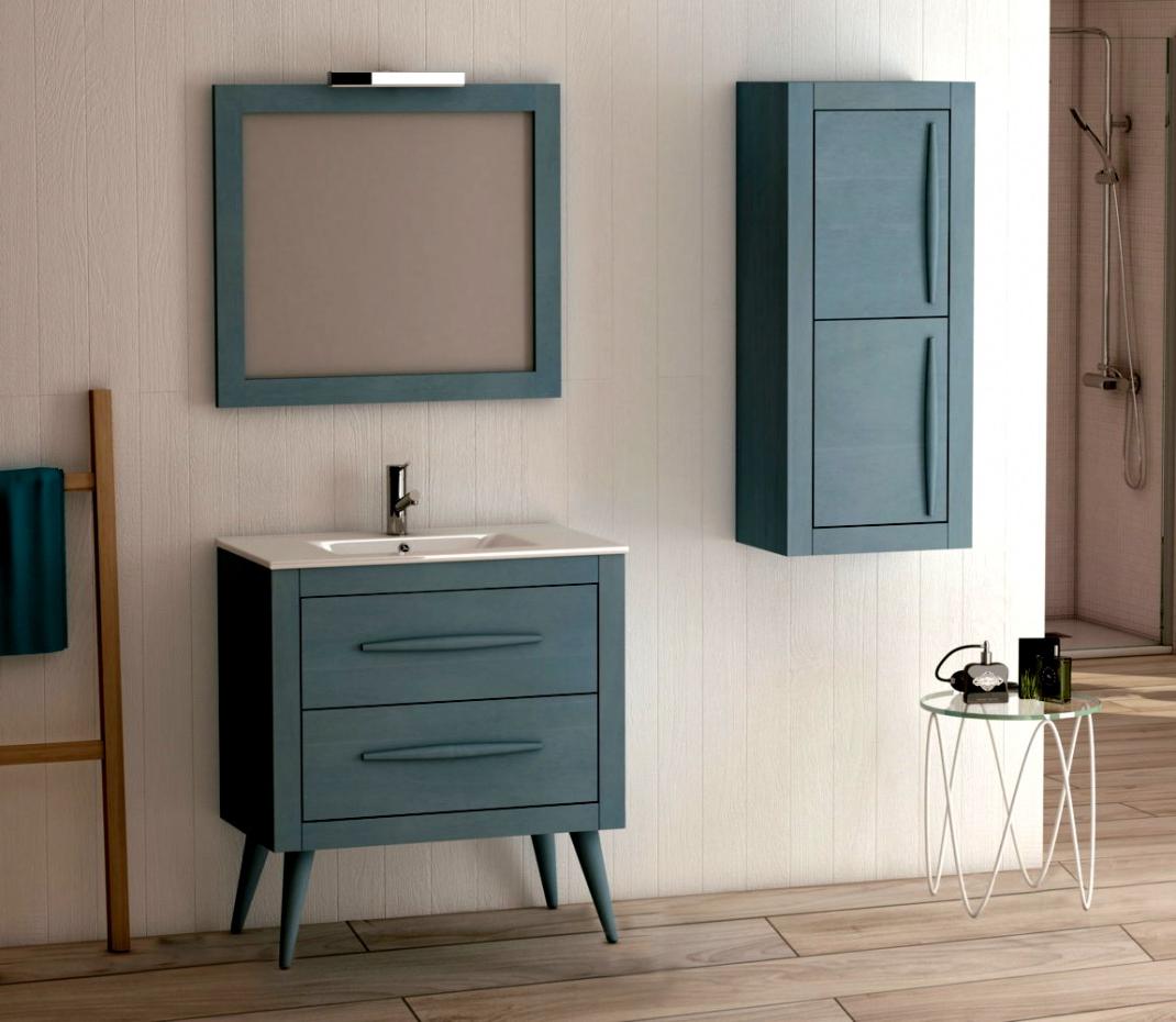 Muebles De Baño Con Patas O2d5 Impresionante Muebles De Bano Color Turquesa Azul Mueble