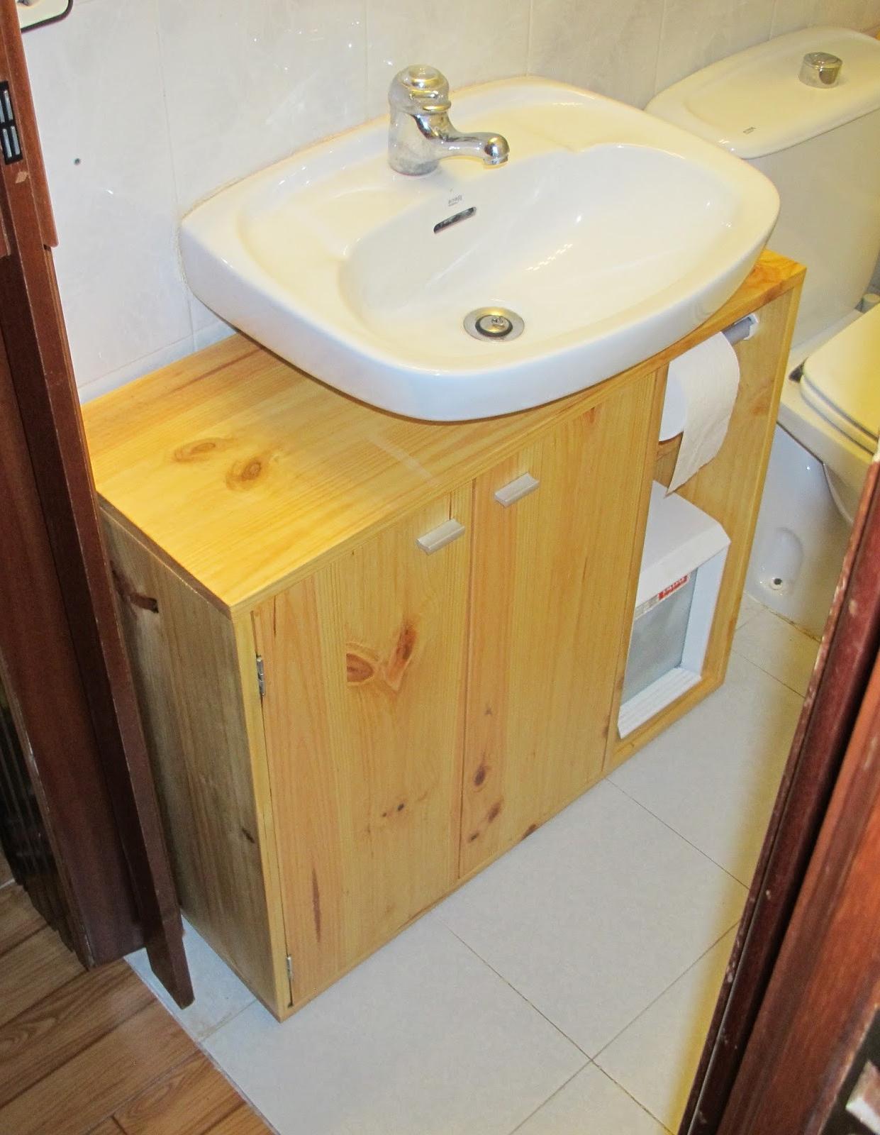Muebles De Baño De Madera Nkde Mueble Baà O Bajo Lavabo Planificacià N Con Motivo De Pintar Vuestra