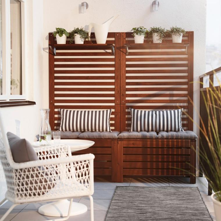 Muebles De Balcon 87dx Balcones Con Elementos Y Muebles Muy útiles