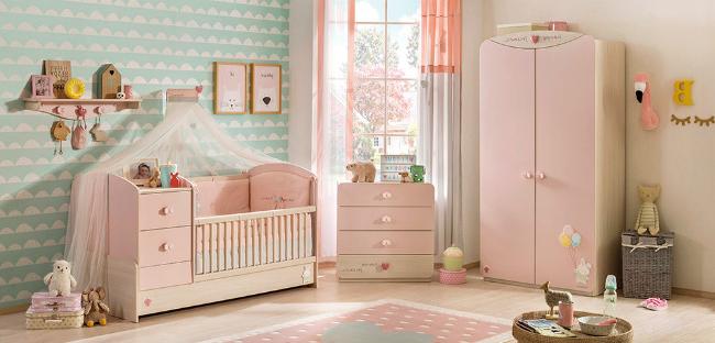 Muebles De Bebe Kvdd Baby Girl Muebles Para Habitacià N De Bebà Nià A