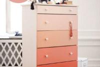 Muebles De Cajones Ikea 3ldq Diy Pinta Con Efecto Degradado Un Mueble CÃ Moda De Cajones De Ikea