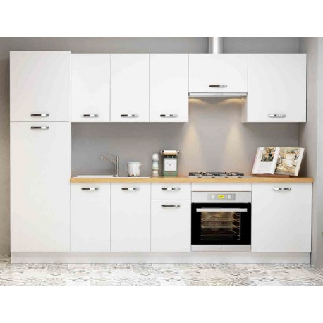 Muebles De Cocina 9fdy Conjunto Mueble Cocina Blanco soft