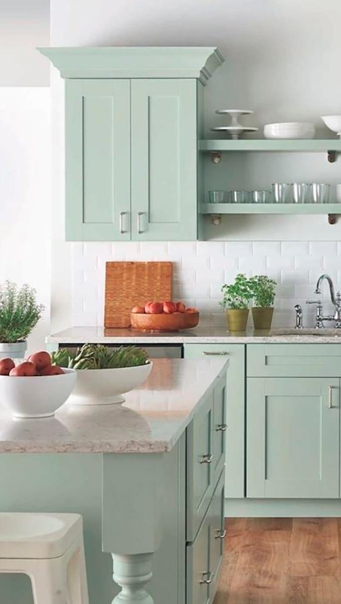 Muebles De Cocina Pintados Qwdq Ideas Para Pintar Los ...