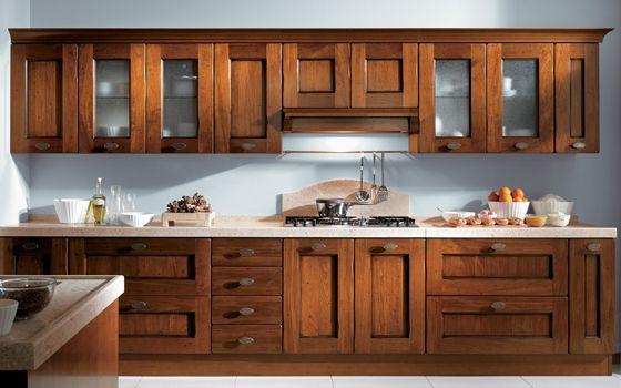 Muebles De Cocina Rusticos Baratos 87dx Cocina Estilo Rustico De Madera Cerezo Cocina Campanas