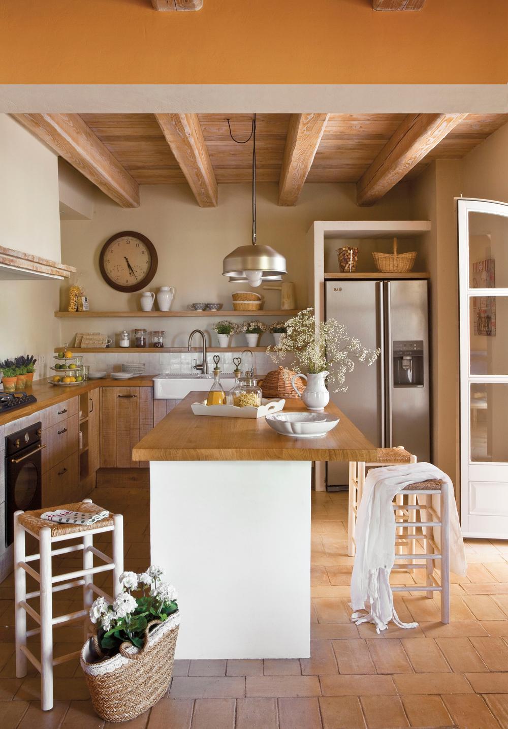 Muebles De Cocina Rusticos Baratos E6d5 50 Cocinas Rústicas Bonitas Con Muebles Vintage Y Mucho Encanto