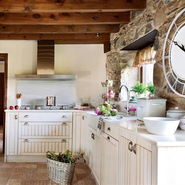 Muebles De Cocina Rusticos Baratos T8dj 50 Cocinas Rústicas Bonitas Con Muebles Vintage Y Mucho Encanto