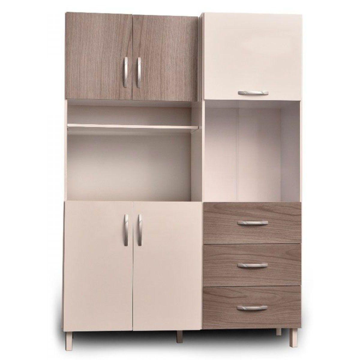 Muebles De Cocina X8d1 Muebles Cocina Mueble Cocina Maximo 5p Gris Blanco En Cetrogar