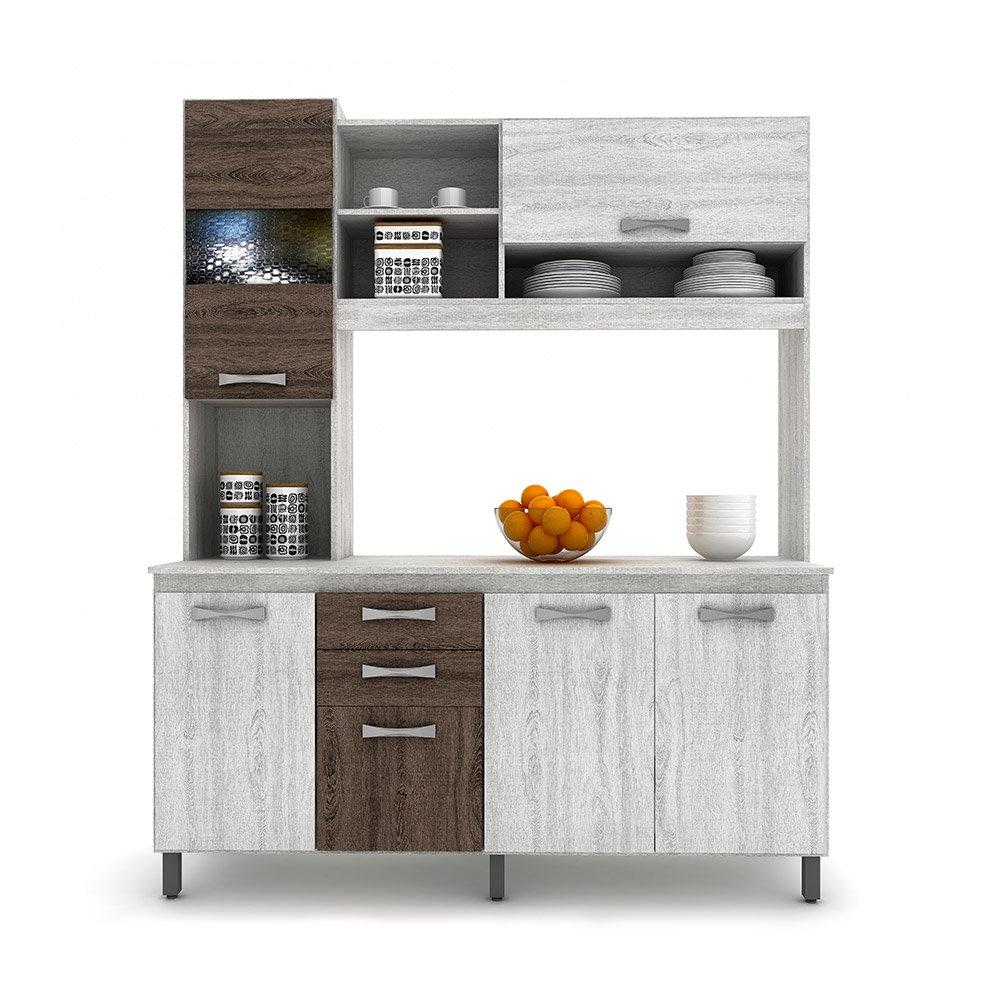 Muebles De Cocina Xtd6 Mueble De Cocina Casa Ideal Vivi 5 Puertas 3 Cajones Hites