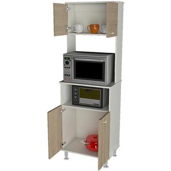 Muebles De Cocina Y7du Pra Mueble De Cocina Tuhome Kitchen 54 Fenix Blanco Rovere