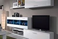 Muebles De Comedor Baratos Q0d4 Mueble De Salon Edor Con Leds Acabado Blanco Brillo Centro De