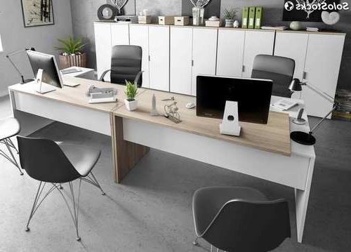 Muebles De Despacho E6d5 Pack Muebles Despacho Moderno 2 Mesas Escritorio 5 Armarios Color