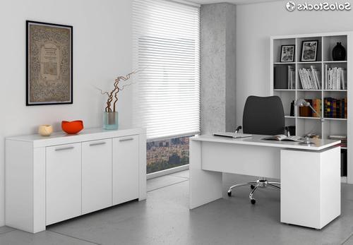 Muebles De Despacho Ffdn Pack Muebles Despacho Blanco Escritorio Estanterà A Y Aparador
