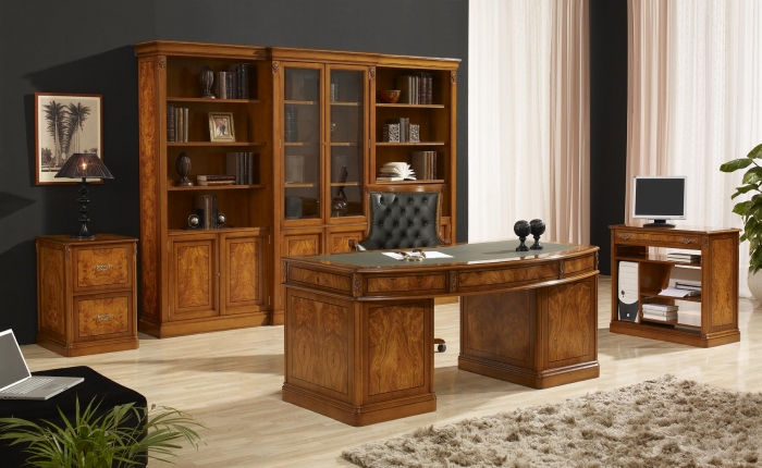 Muebles De Despacho S1du Mobiliario De Oficina Clasico Mobiofic
