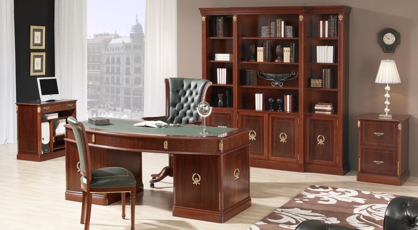 Muebles De Despacho Txdf Mesas De Despacho Clà Sicas Espacios De Trabajo Acogedores Y