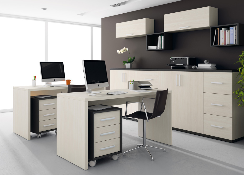 Muebles De Despacho Y7du Muebles De Oficina Con Un toque Muy Informal El Blog De Merkamueble