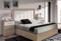 Muebles De Dormitorio Bqdd Dormitorio Capitonà Con Cabezal Tapizado De Polipiel Y Mesitas