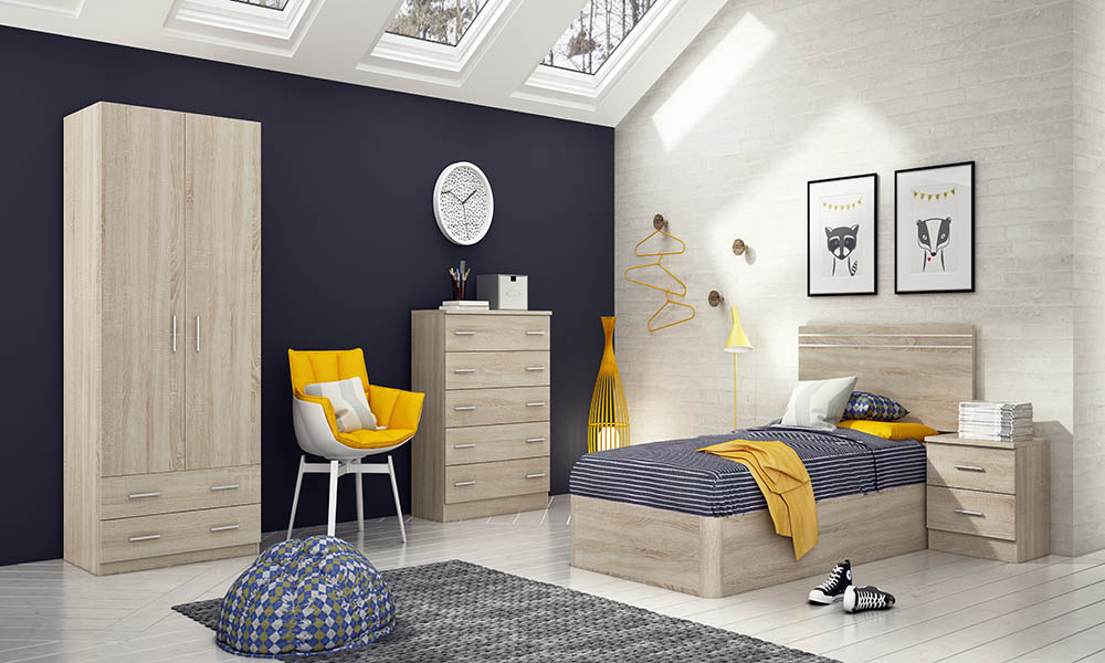 Muebles De Dormitorio X8d1 Dormitorio Juvenil Junior Es Un Conjunto Moderno PraloÂ
