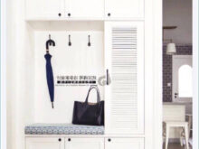 Muebles De Entrada Blancos